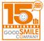 グッドスマイルカンパニー15周年ロゴ