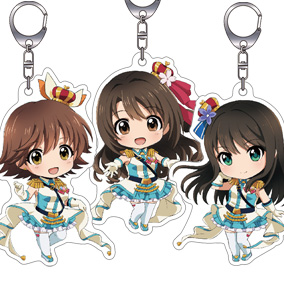 Nendoroid Plus THE IDOLM@STER CINDERELLA GIRLS Acryclic Keychains: New Generations Set