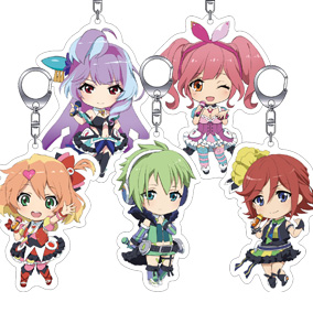 Nendoroid Plus Macross Delta Acrylic Keychain Set: Walküre Set