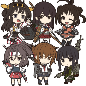 Nendoroid Plus: KanColle Straps - 2nd Fleet (Vol. 2)