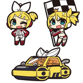 ラバーストラップセット 鏡音リン SUPER GT 応援Ver.
