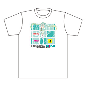 サーキットTシャツ レーシングミク2017 Rd.1 S/M/L/XL/XXL