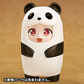 黏土人配件系列 玩偶裝 貓熊