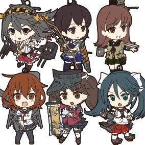 Nendoroid Plus KanColle Straps 1st Fleet