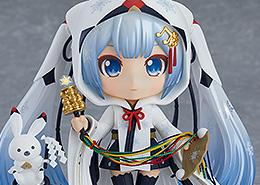 Nendoroid Snow Miku: Crane Priestess Ver.
